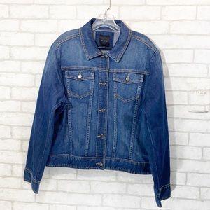 The limited denim jacket size XL